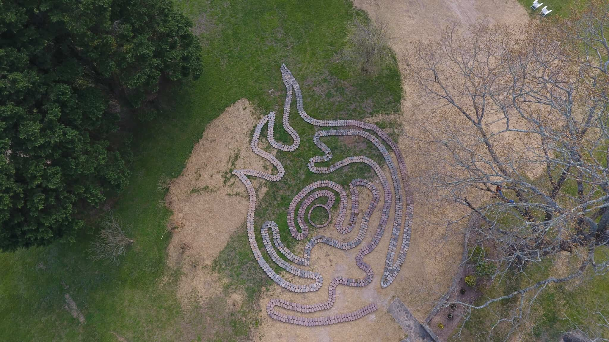 Asheville Garden – Meet the Transmutation Labyrinth