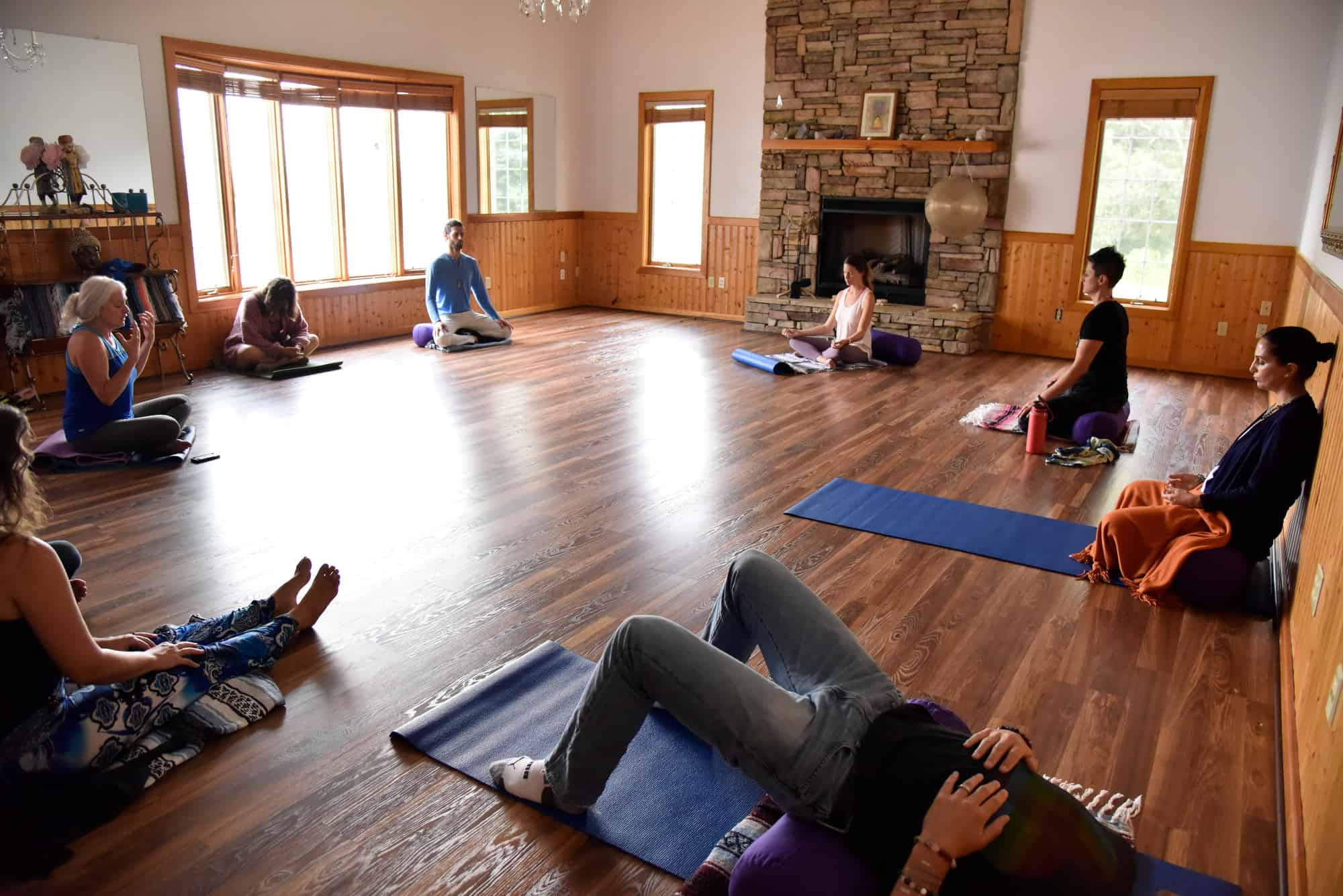 Yoga & Meditation at The Horse Shoe Farm