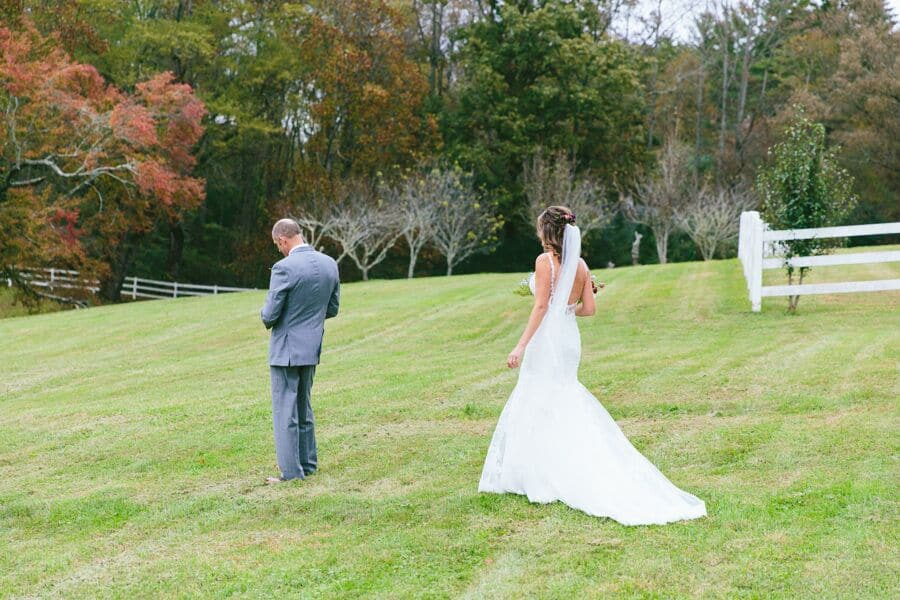 Autumn wedding at The Horse Shoe Farm.