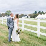 Farm wedding at The Horse Shoe Farm.